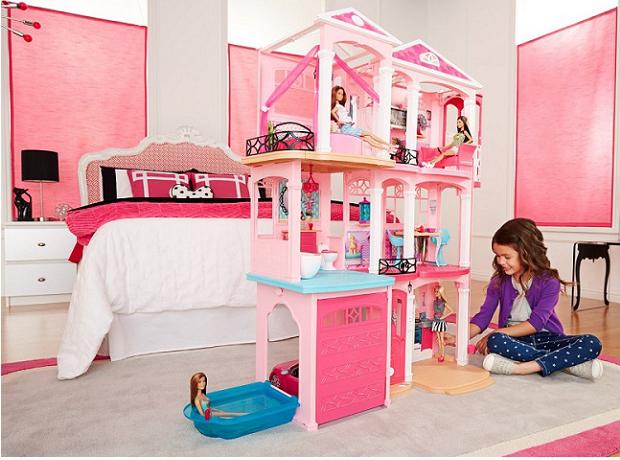 Barbie traumvilla pfiff toys for Costruttore di casa dei sogni online